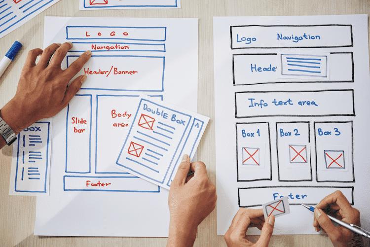 Website Design and Presentation